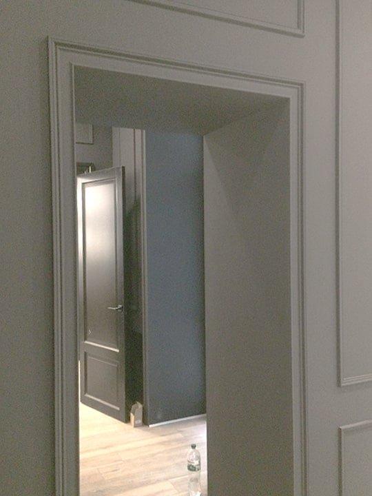 дверные проемы в ремонте